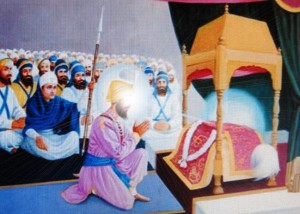 10-Gurgaddi given to Sri Guru Granth Sahib Ji